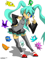 miku colors by wallacexteam