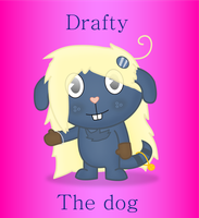 Drafty the dog by Wopter