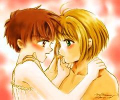 Syaoran Sakura Forbidden Love by gorgeous1223