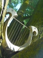Zelda's Harp--Skyward Sword by meanlilkitty