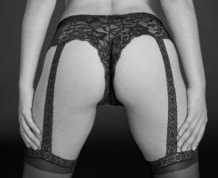 Stockings by huitphotography