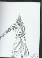 Pyramid Head by Zhang-chen