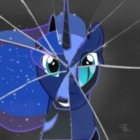 Fractured Luna by Scyphi
