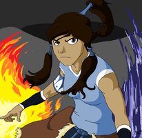 The Legend of Korra by Jurassiczalar