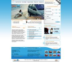 Car Hire website by alwinred