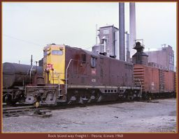 Rock Island way freight by classictrains
