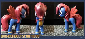Wonderbolt Scootaloo - My Little Pony Custom by Demedicia