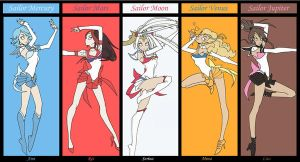Sailor Soldiers by punkrockguy