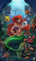 Ariel The Little Mermaid by EdgarSandoval