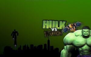 Hulk vs Wolverine by bbboz