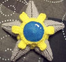 Custom Amigurumi SHINY Staryu by Lunarchik13