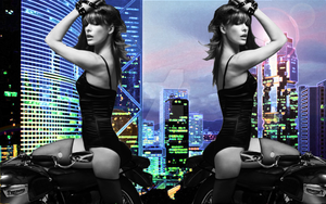 Milla Jovovich Wallpaper by NoxNoctisUmbra