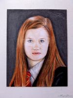 Ginny Weasley of HP the Half-Blood Prince by xxMagicGlowxx