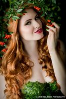 Poison Ivy cosplay by Mcosplay