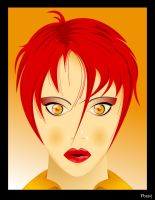 Face in vector by Possy73