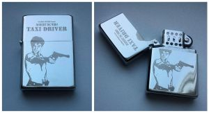 Taxi driver - engraved lighter by Piciuu
