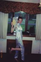 Me in Chinese dress XD by xiaoyuchi