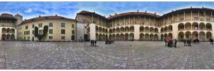 Arcaded Courtyard 360 by french-fries