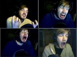 PewDie's Crazy Faces XD by MrsIshida0560