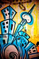 On Athens walls 12 by Yousry-Aref