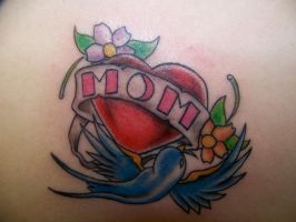 mom tattoo by MOET14