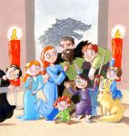 Game of Thrones House Stark by Gigei