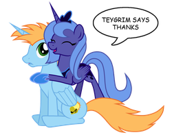 Thanks Harmony Star by teygrim