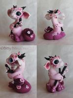 Bitty Cherry Blossom Dragon by BittyBiteyOnes