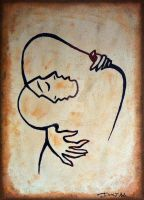 Painting challenge: Embrace by DesuDan