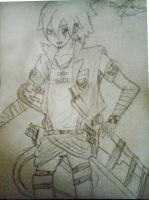 Me (or Soul) as a soldier from Explorer Legion SNK by TheDrailusX