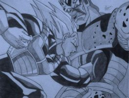 Vegeta Strikes by Conzibar