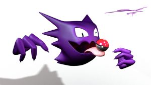 Haunter 3D 2.0 by Sandra-Soria