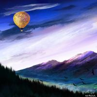 Air balloon by AnnHimchak