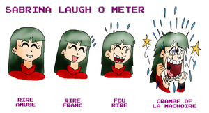 Sabrina laugh o meter by ZeFrenchM