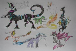 Creature Adoptables (p.1) - 1 LEFT by TriinuArjus