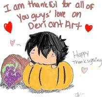 Happy Thanksgiving DA by nikki-chan10