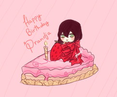 :Gift:HAppy B-day Drandja: by SymphoBunny