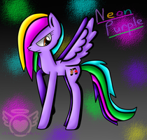 Comission: NeonPurple by xXAngelAnarchyXx