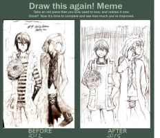 Draw this again meme by shindianaify
