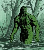 Swamp Thing by craigcermak