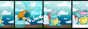 Squirtle's First Snow by SHIBUYA401