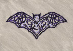celtic bat by spookyt5