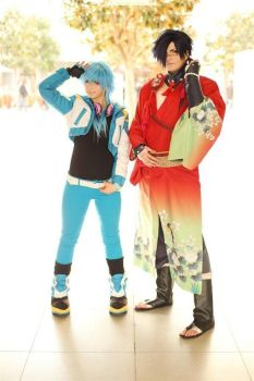 Dramatical Murder - Koujaku and Aoba by Etienne-Magique