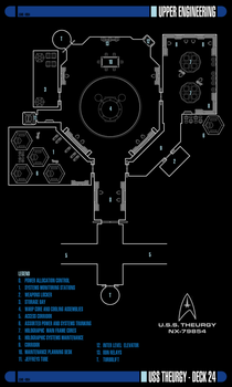 Star Trek Theurgy Schematics Floor Plans Misc By