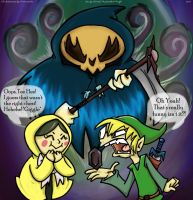 Link's Pissed by anniemae04