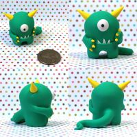 Diddle the Timid Monster by TimidMonsters