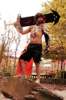 Jecht FFX Cosplay: Son..One Day by ManticoreEX