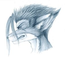 Penciled Fox by Fox-Dev