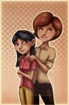 Helen and Violet +colors+ by 77Shaya77