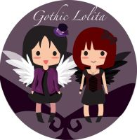 Lolita logo design by Black-sania